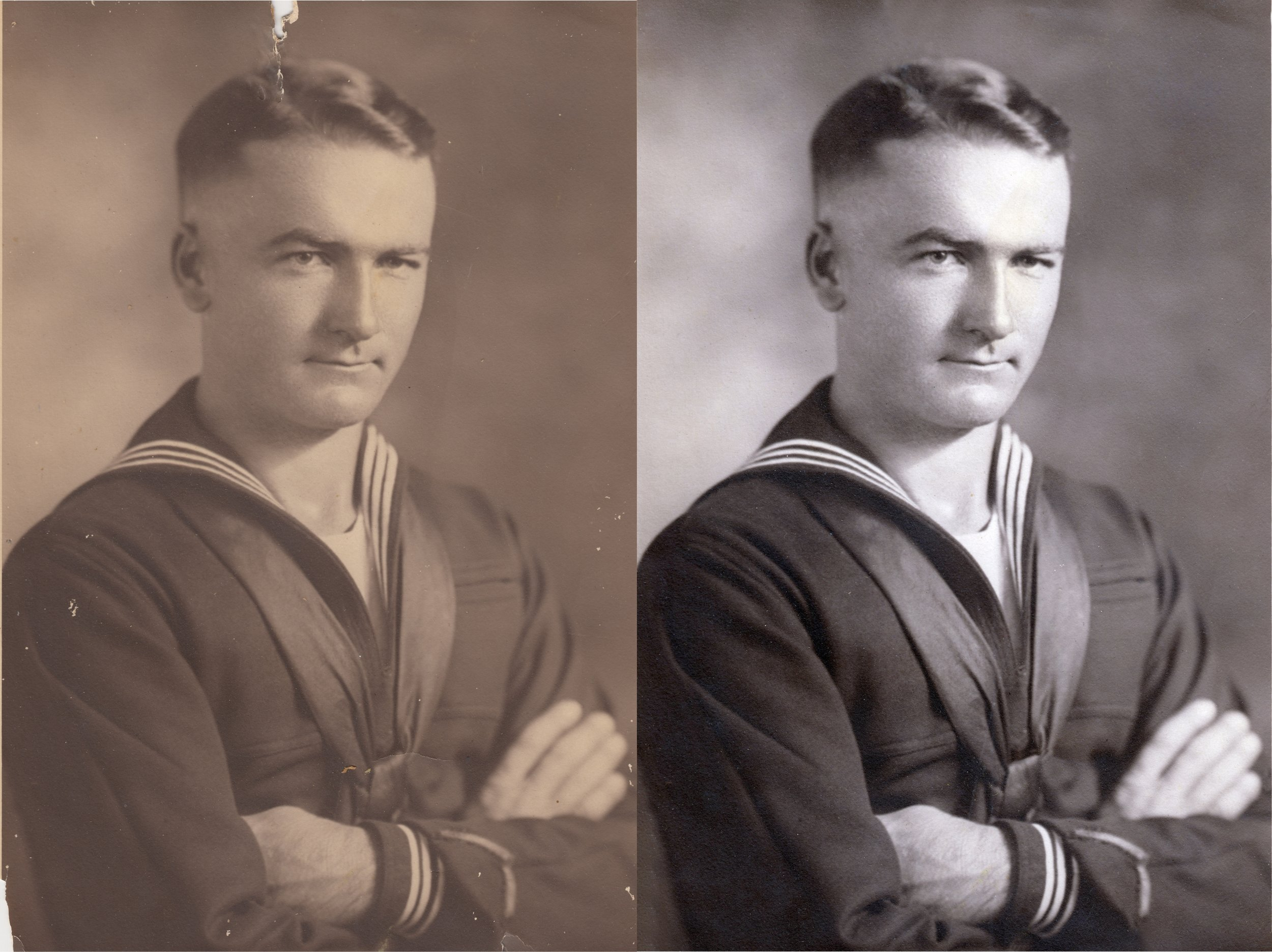 Antique Photo Restoration -