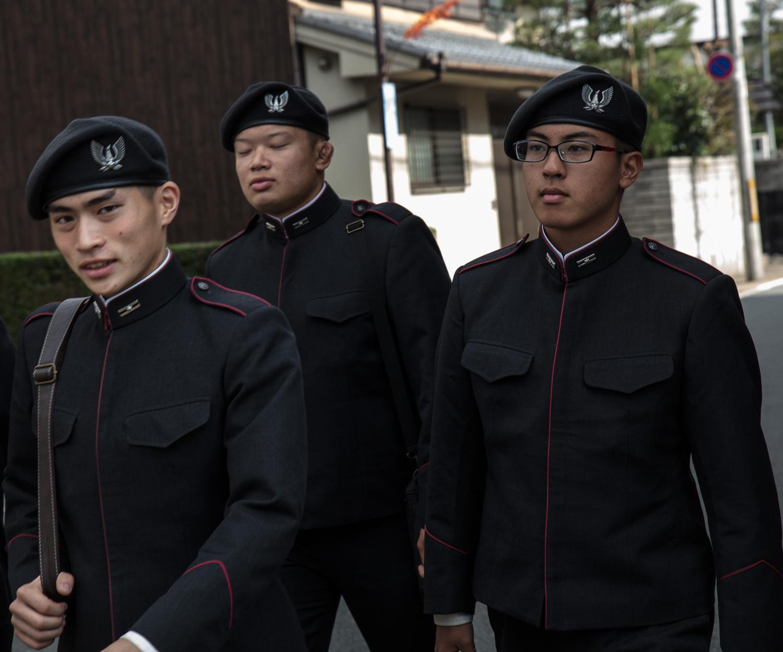land of uniforms