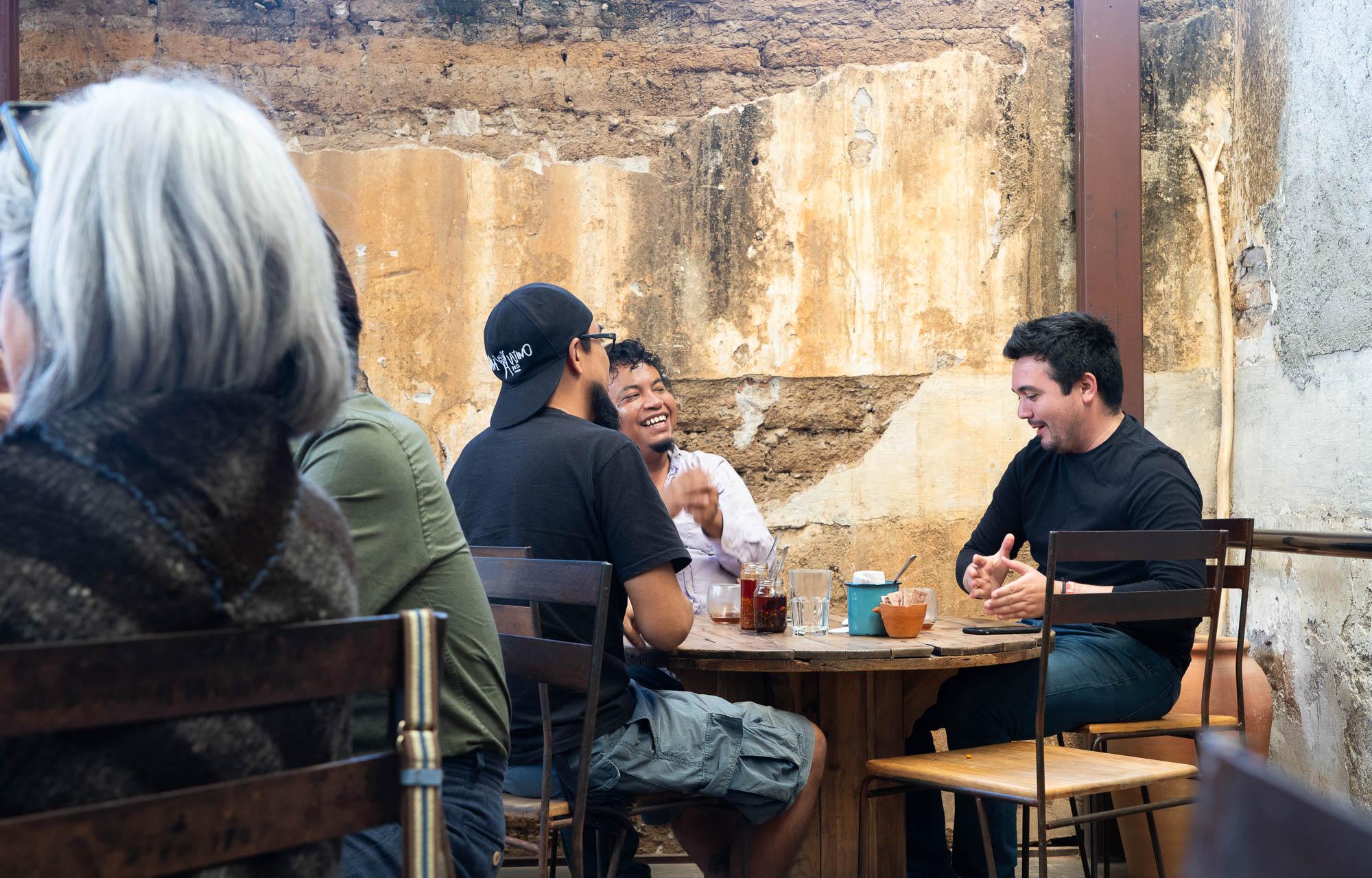 Boulenc tables, Oaxaca