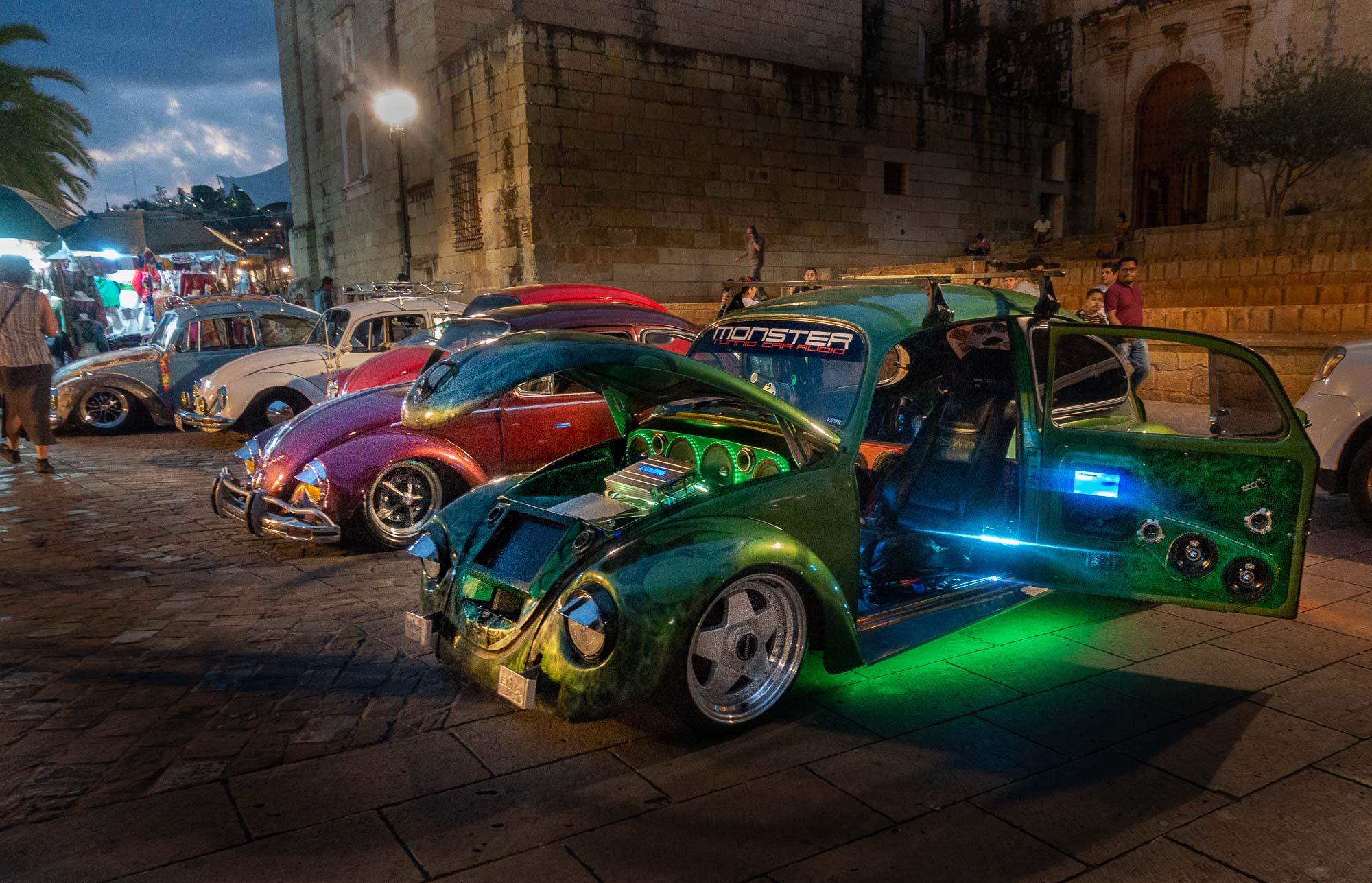 Impromptu modified VW show