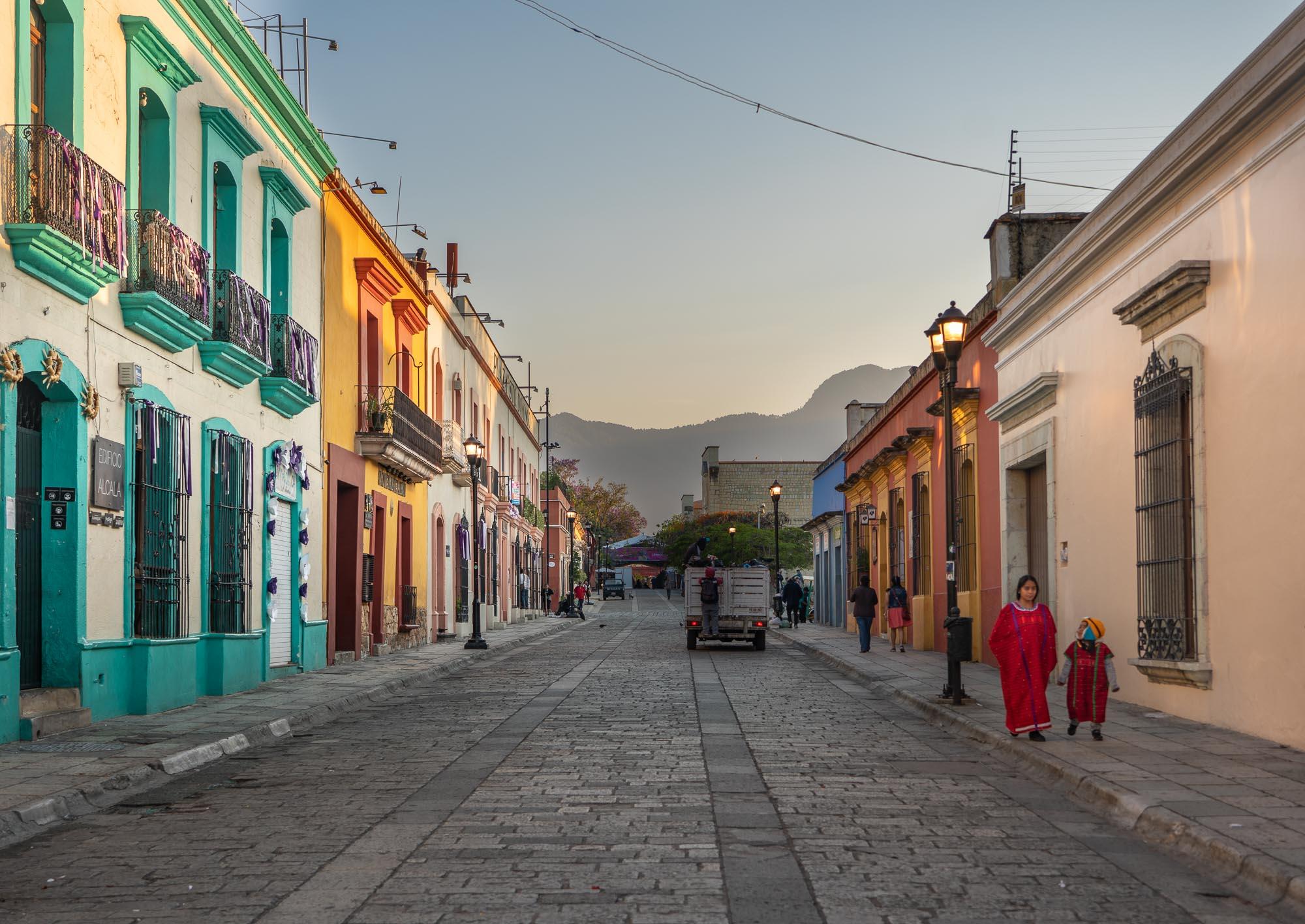 Morning walk, Oaxaca