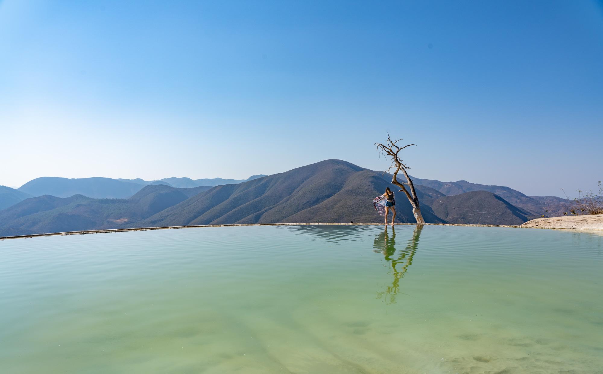 Beauty at the Hierve el Agua
