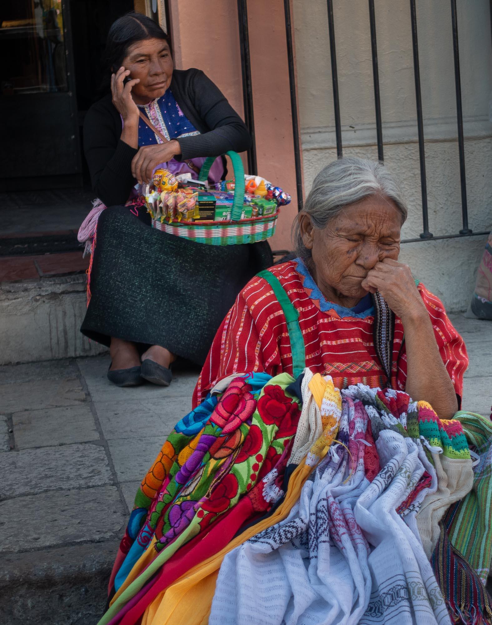 Street Merchants, Oaxaca