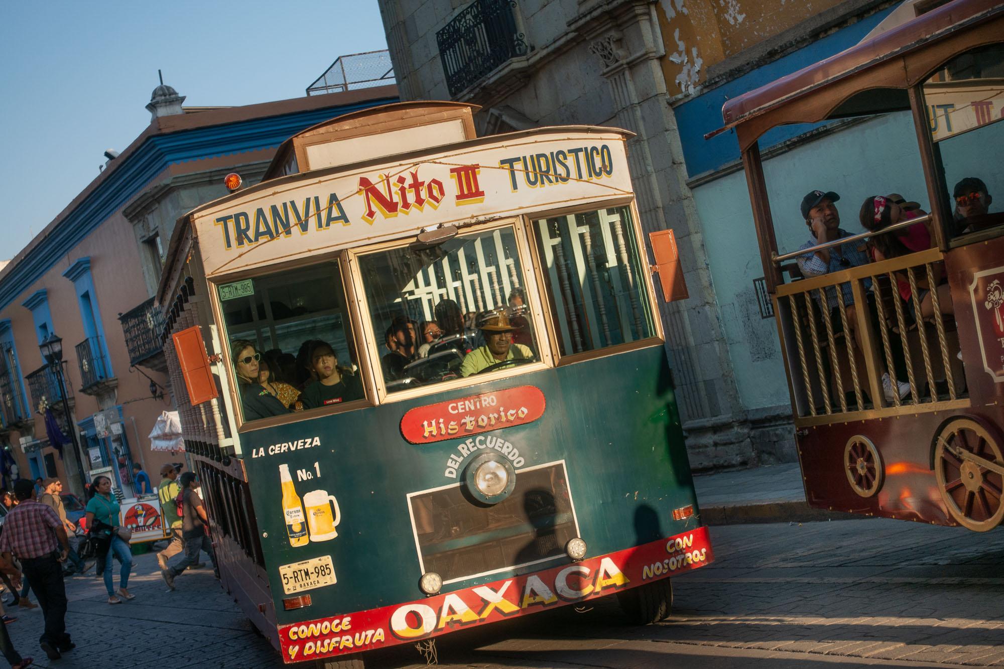 Tour Bus, Oaxaca