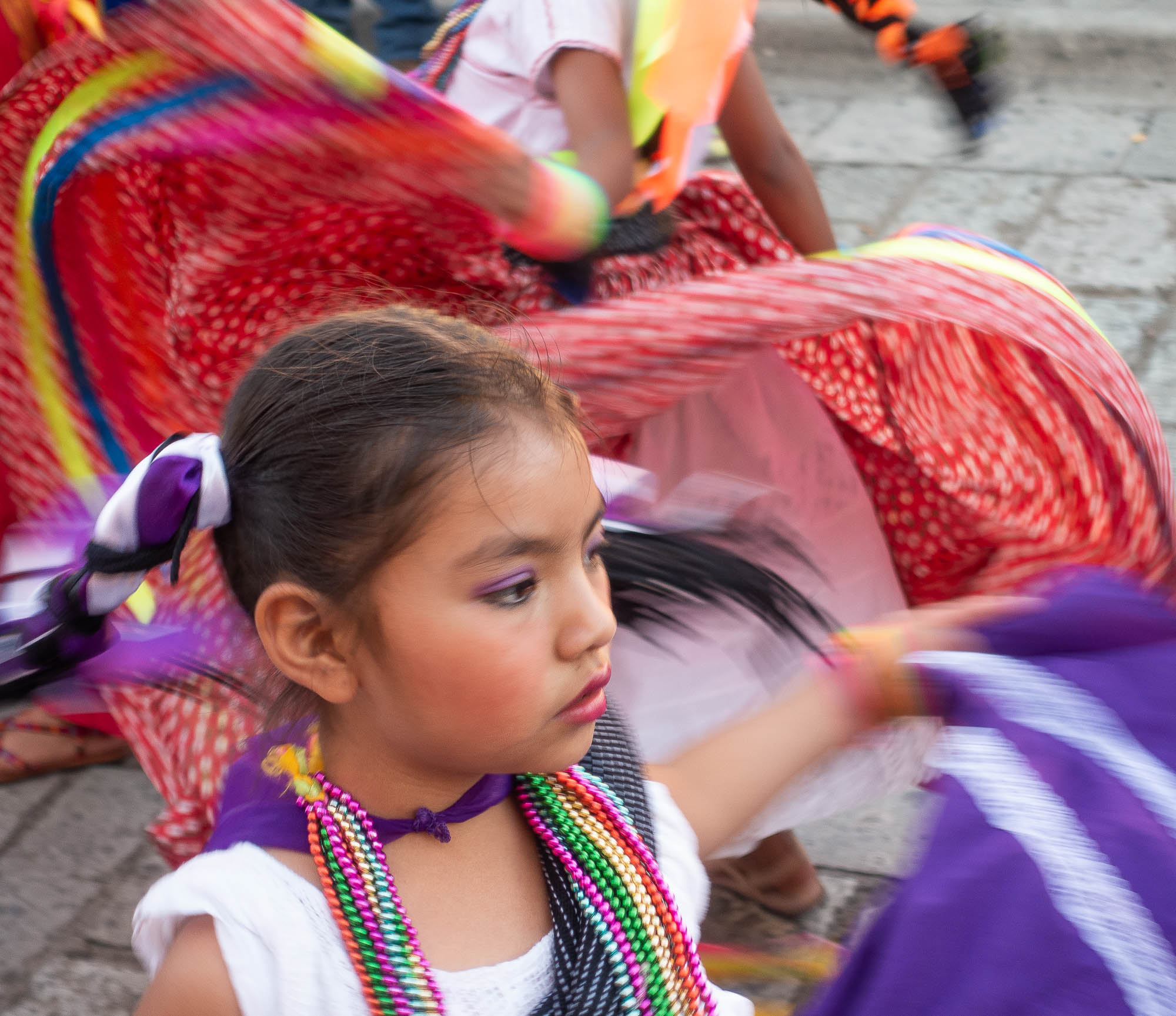 Young dancer, Santa Domingo