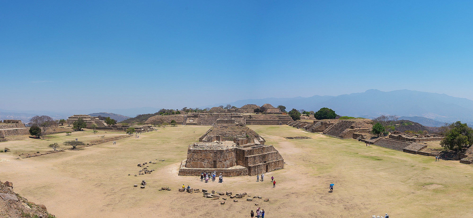 Monte Alban, paorama