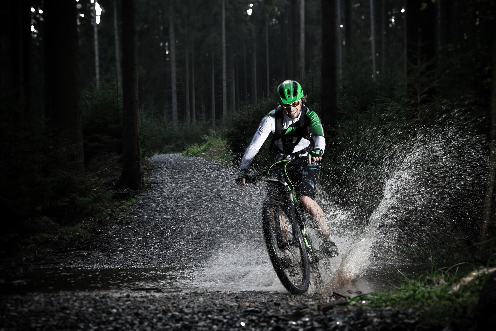 Mountain bike trails abound!