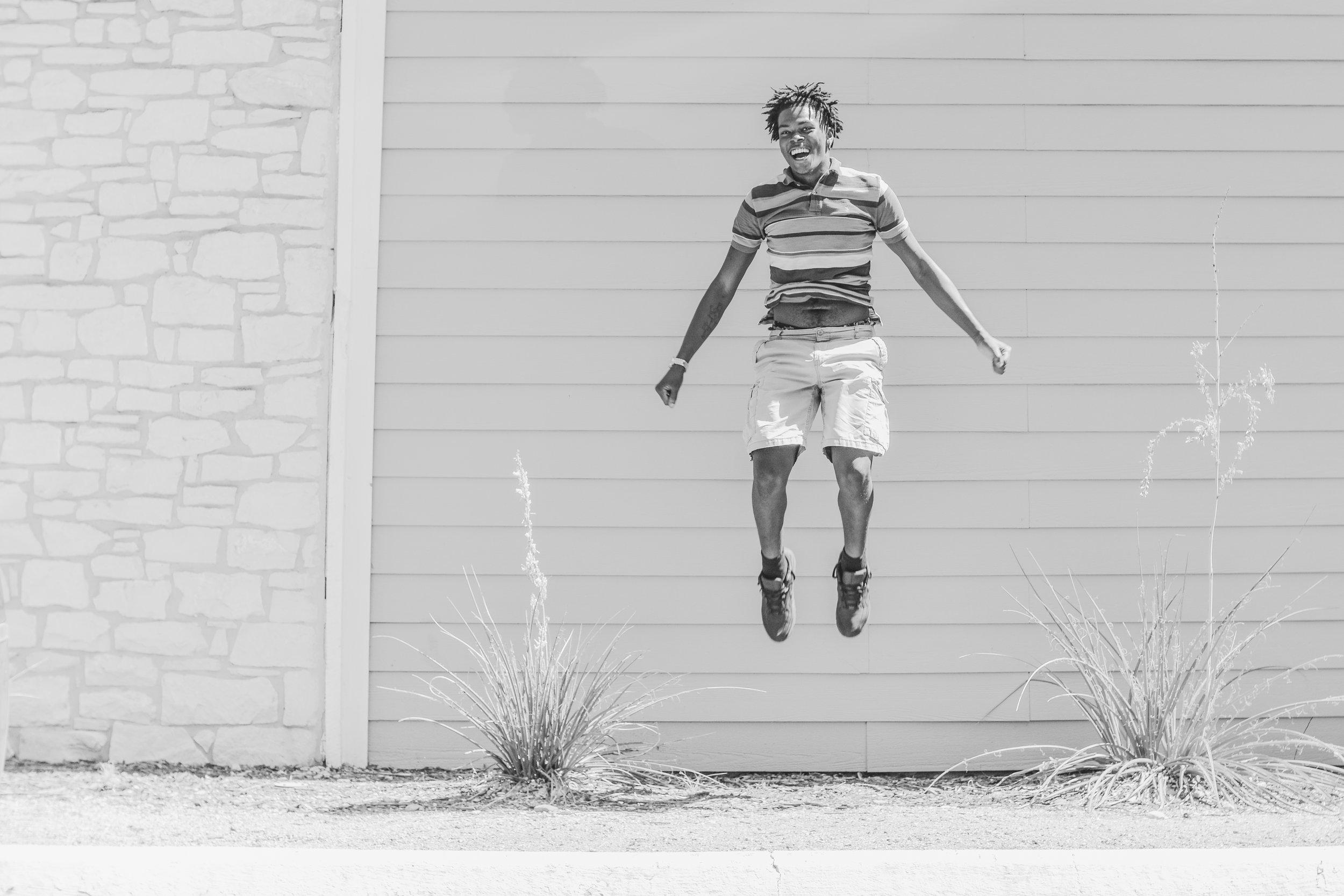 JUMP! Go ahead and jump!