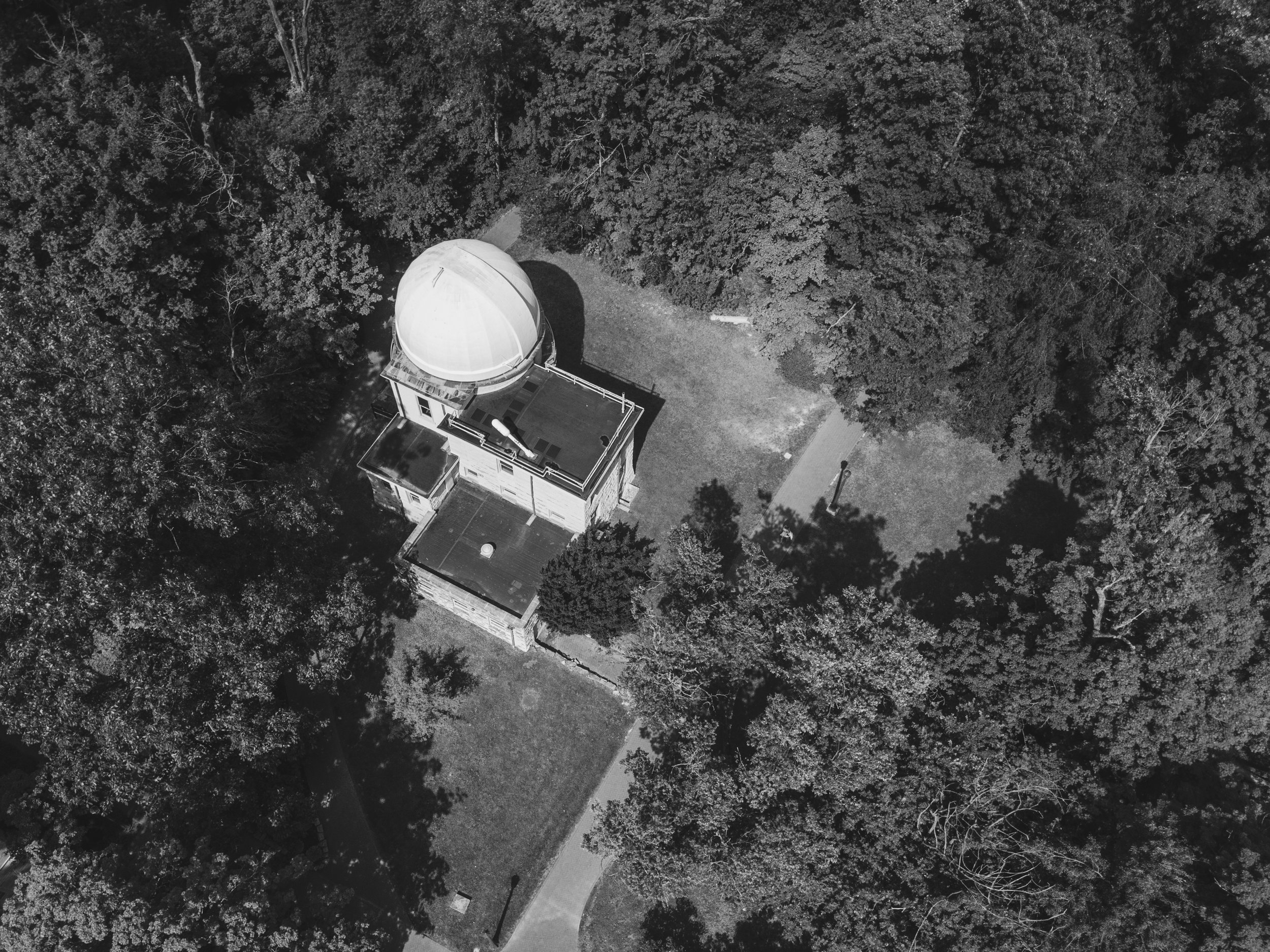 The Kirkwood Observatory on Indiana University's campus.