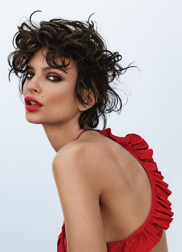 WOMAN ON TOP  ( Allure,  Cover profile)   Emily Ratajkowski thinks I have nice breasts...