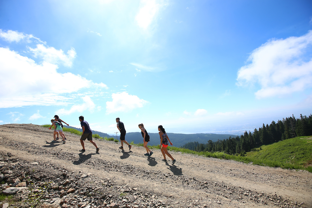 Running - Seek the Peak