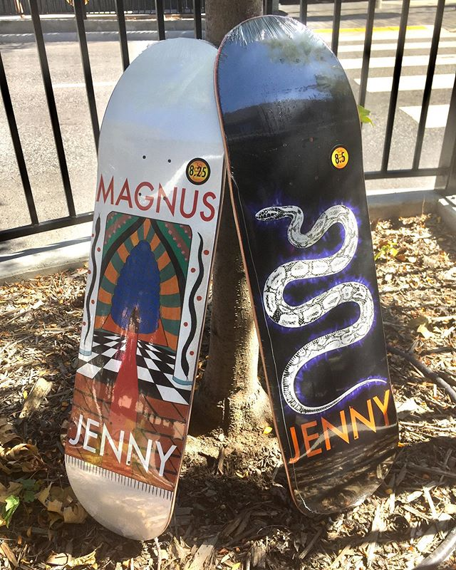 New @jennyskateboards came in this morning!!!😍 good looks @magnushanson 😘😘😘