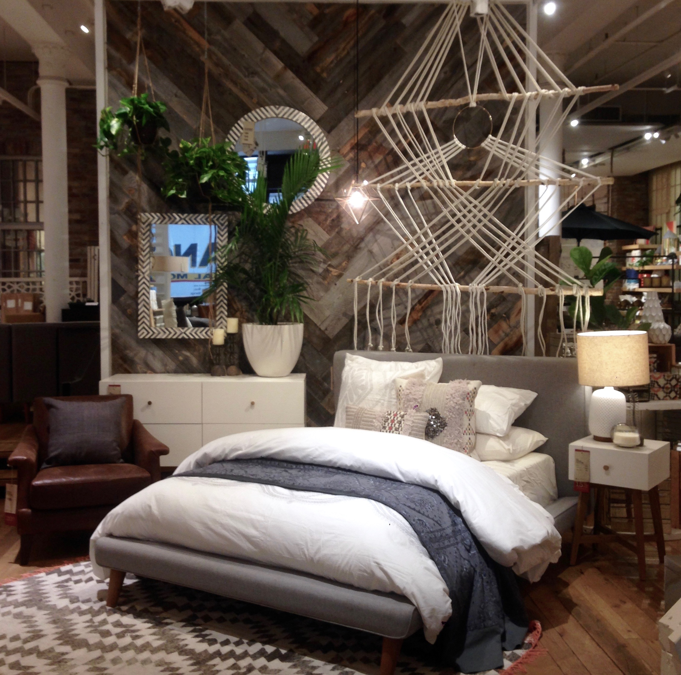 Macramé Wall Art // West Elm // Chelsea, NY // 2014
