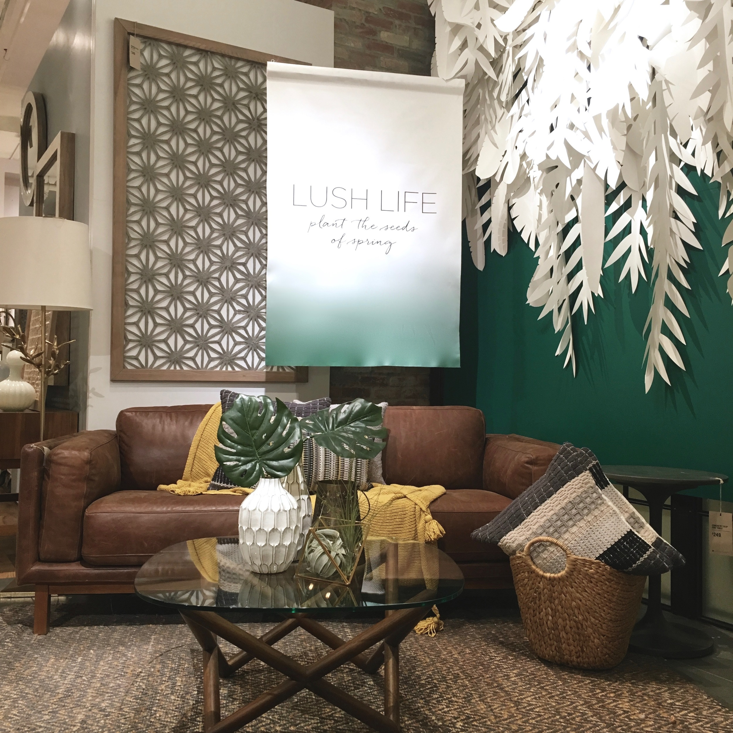 Paper Jungle // West Elm // Chelsea, NY // 2016