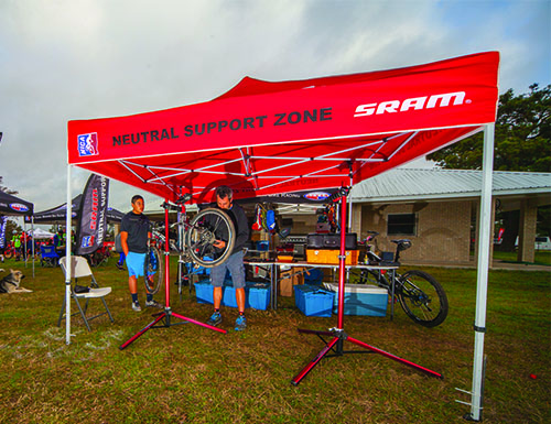 10' x 10' Canopy Tent, Steel Hex Frame, Full Print Roof 13.jpg