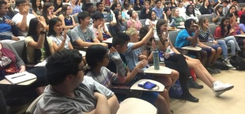 Stony Brook University, New York, July, 2016