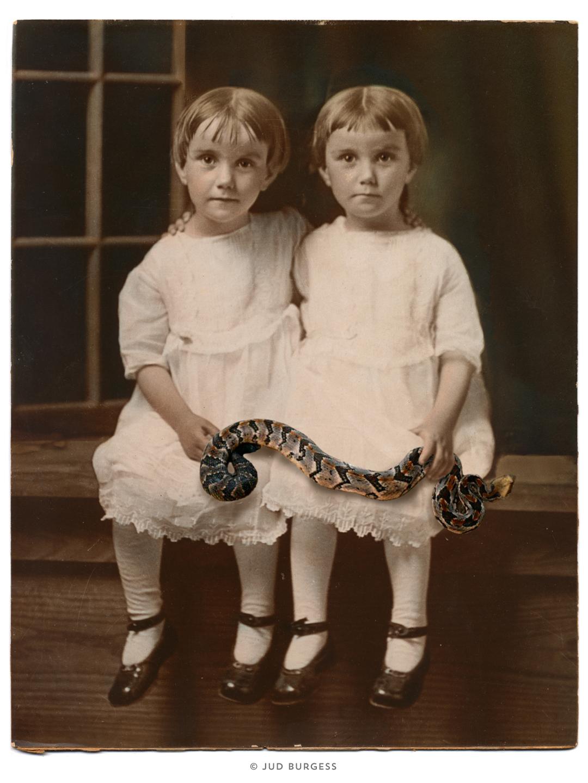 The Ties That Bind. © Jud Burgess 2015
