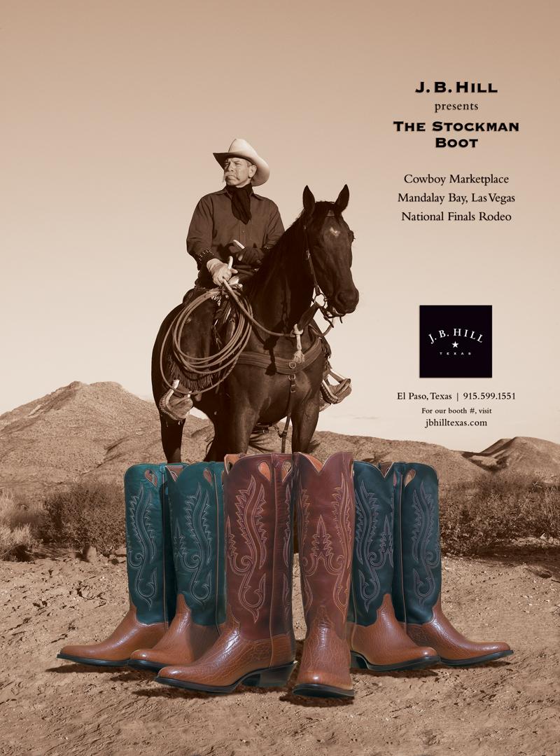 Cowboy as Hero. Boots as hero footwear. Photography Lencho Guerra