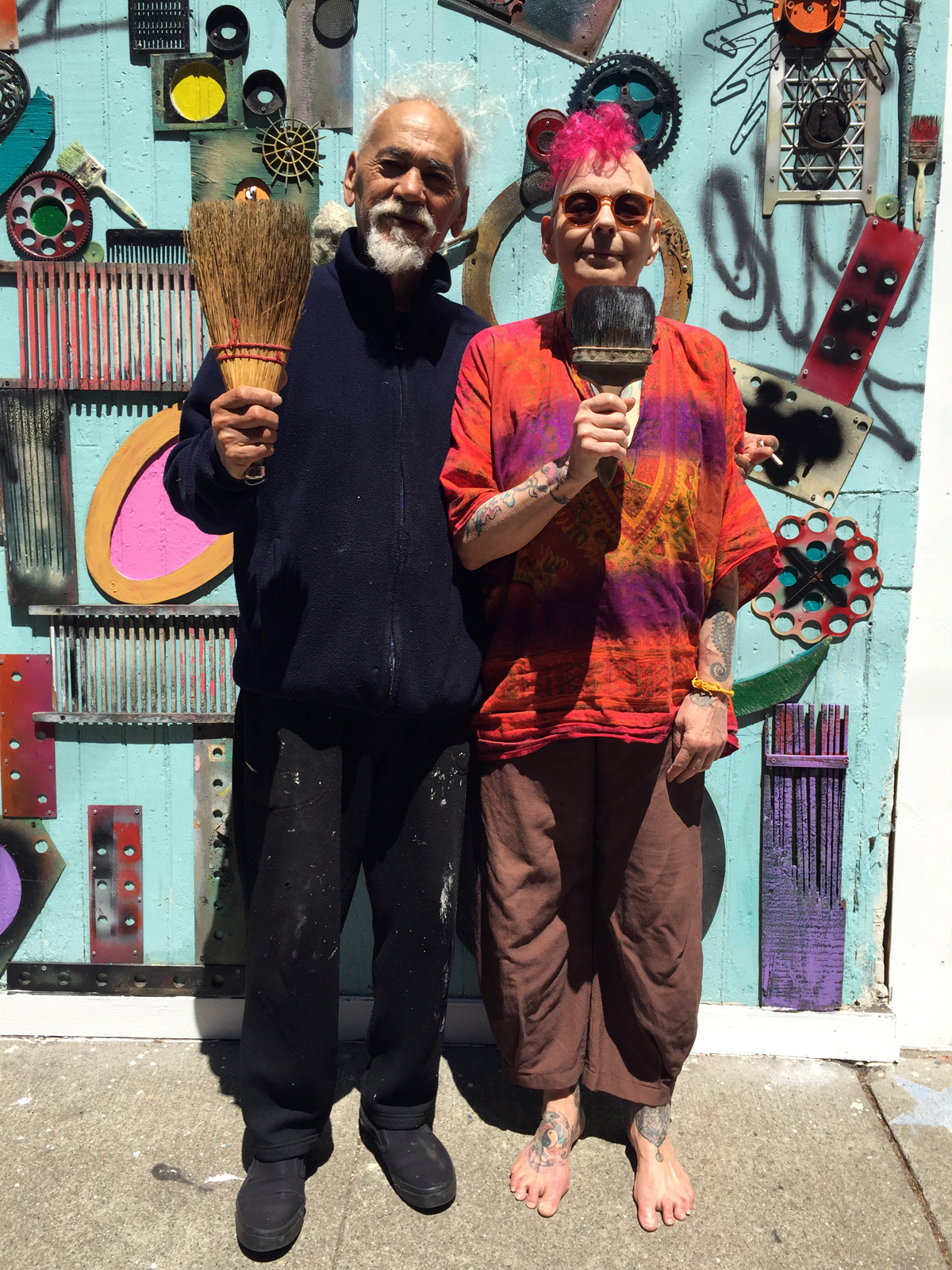 New American Gothic   Hayes Valley, San Francisco.  © Jud Burgess 2015
