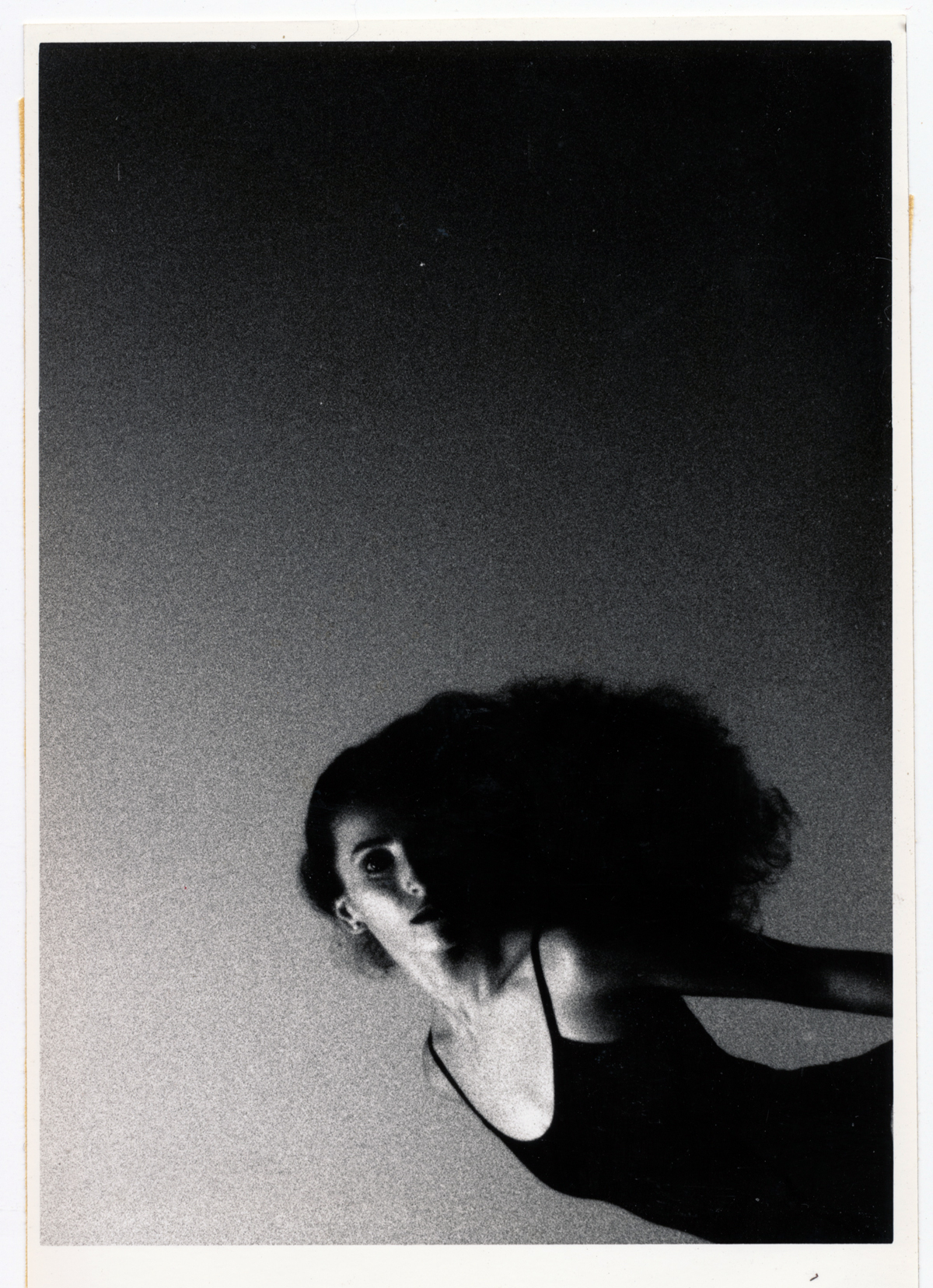 Jacque Flying   35mm silver print.  © Jud Burgess  1987