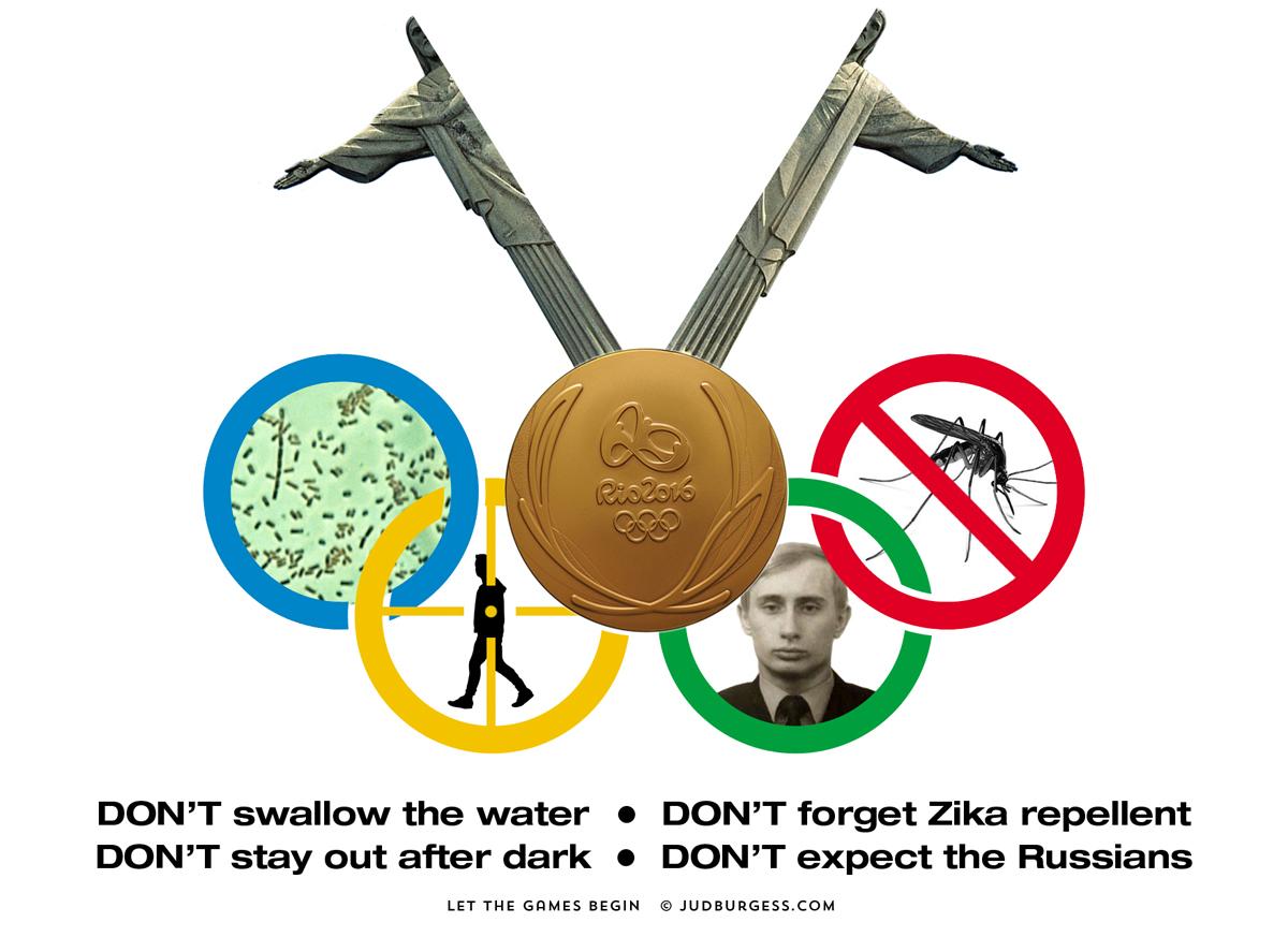 Rio Olympics © Jud Burgess