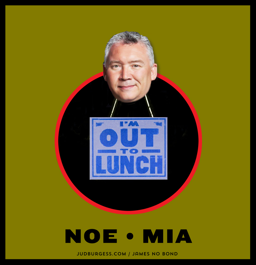 Dr. Noe Out to Lunch © Jud Burgess