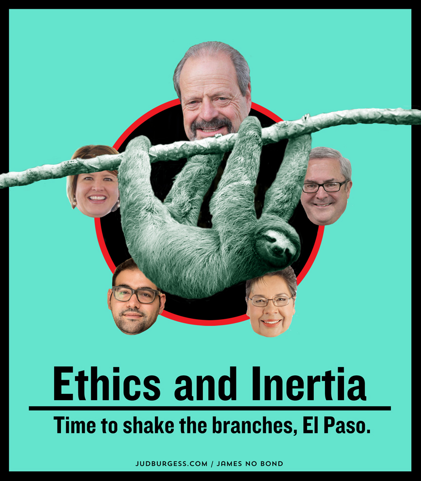Ethics and Inertia © Jud Burgess