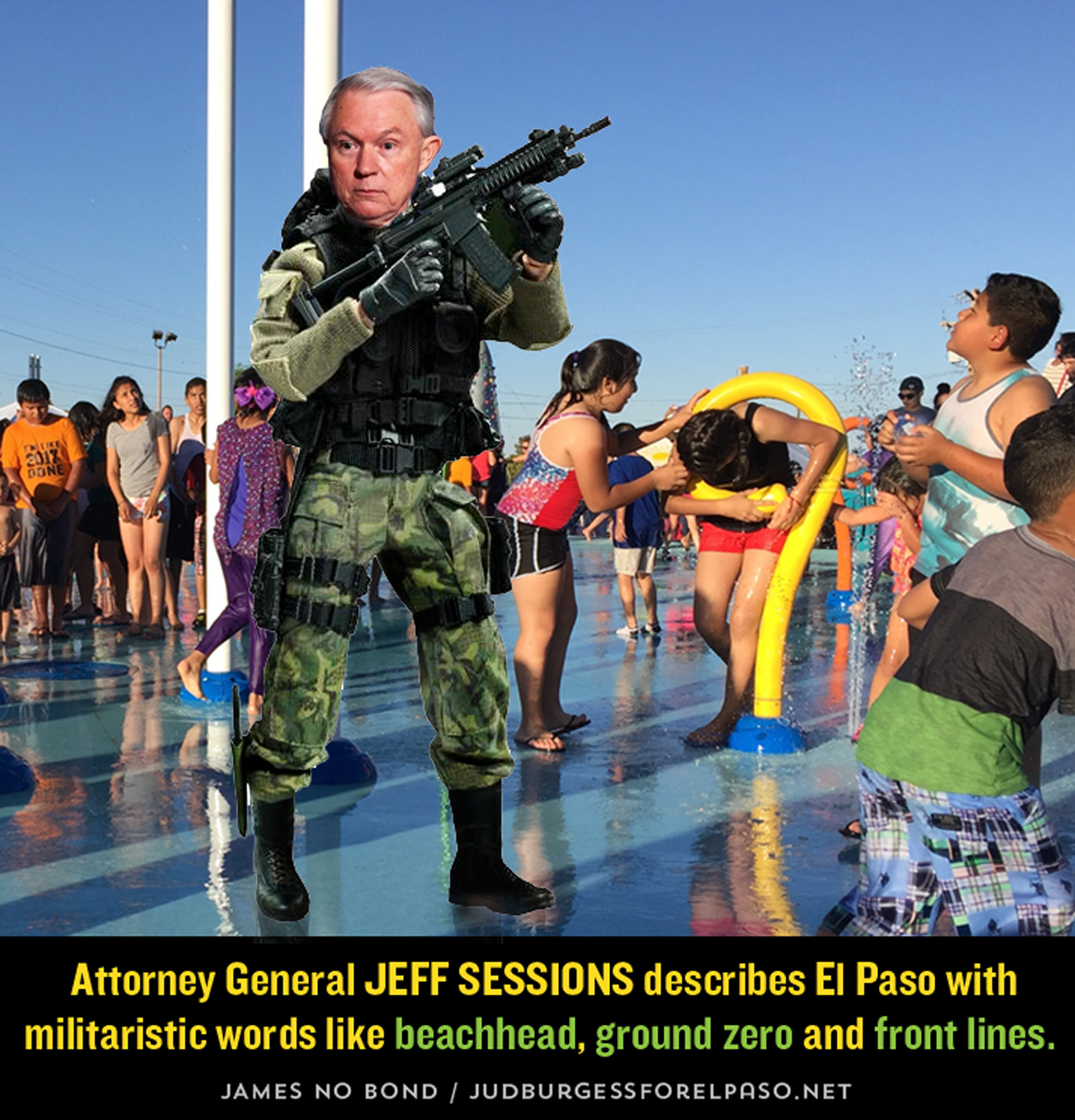 Jeff Sessions Beachhead Jud Burgess