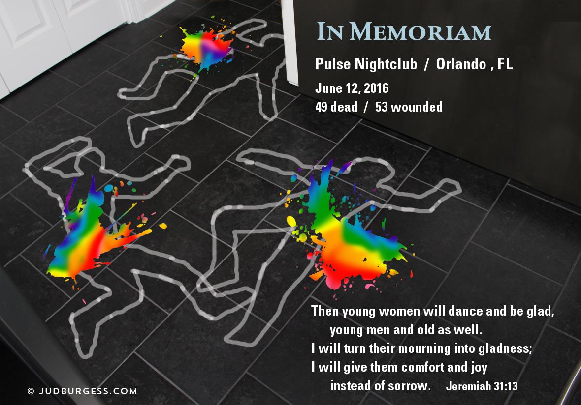 LGBT in memoriam © Jud Burgess