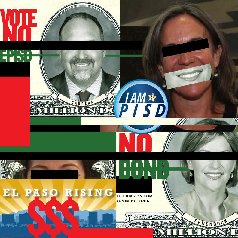 EPISD Superintendent Juan Cabrera Dori Fenenbock Susie Byrd © Jud Burgess