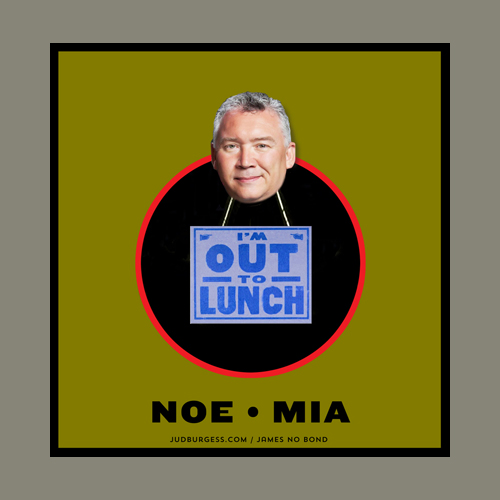 Michiel Noe out to lunch © Jud Burgess