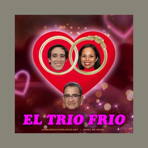 El Trio Frio Jaime Esparza Claudia Ordaz Vince Perez © Jud Burgess