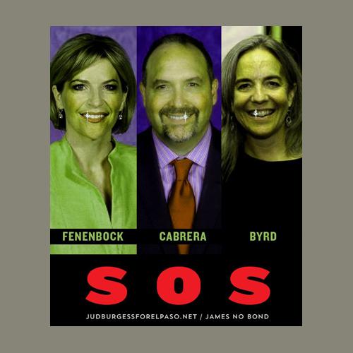 Dori Fenenbock Juan Cabrera Susie Byrd SOS © Jud Burgess
