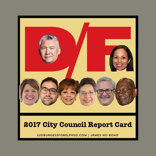2017 El Paso City Council FAIL © Jud Burgess