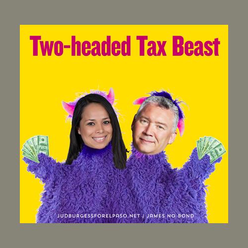 Two Headed Tax Beast Claudia Ordaz Michiel Noe © Jud Burgess