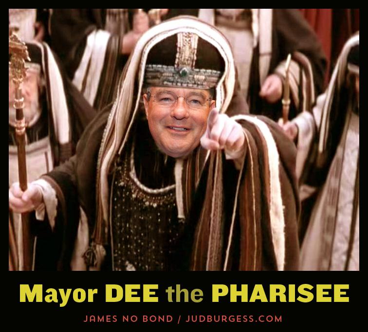 Dee Margo the Pharisee © Jud Burgess