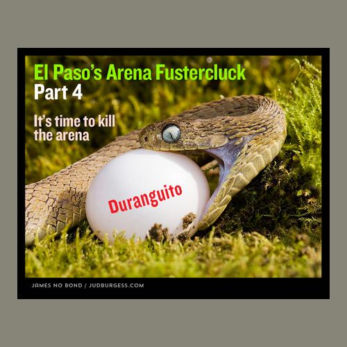Arena Fustercluck 4  Jud Burgess