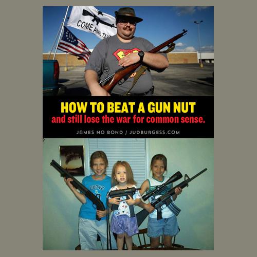 Gun Nuts © Jud Burgess
