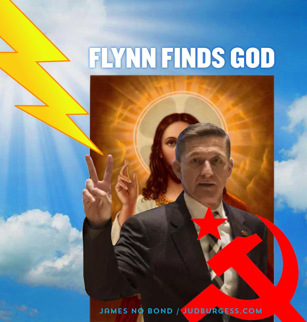 Flynn finds God © Jud Burgess