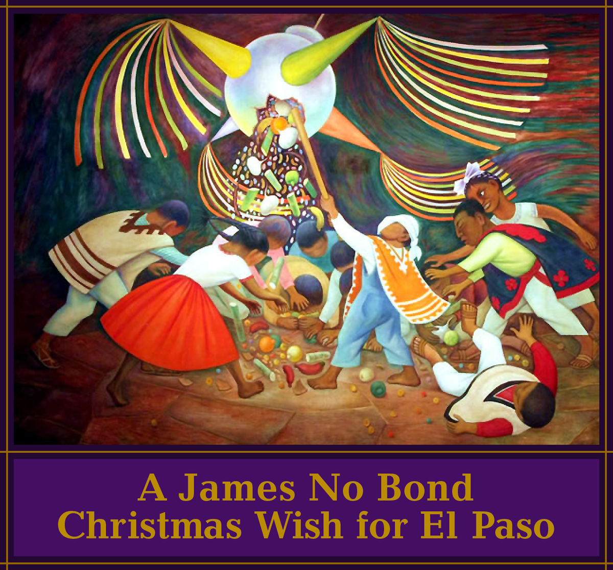 A James No Bond Christmas Wish for El Paso © Jud Burgess