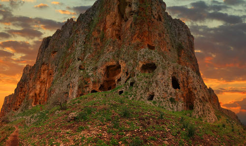 Mount Arbel at Sunset, Lower Galilee