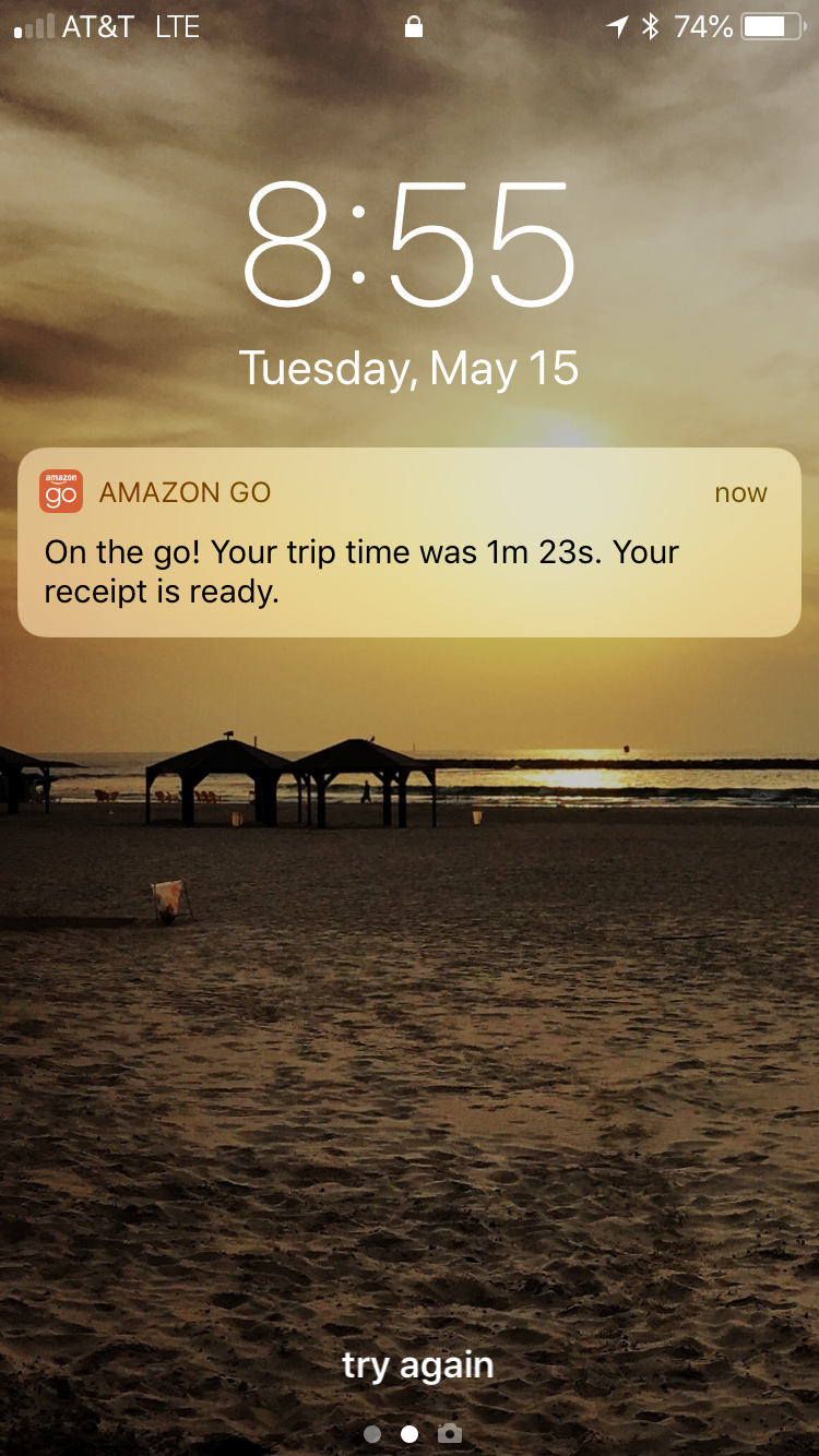 Amazon Go notification.PNG