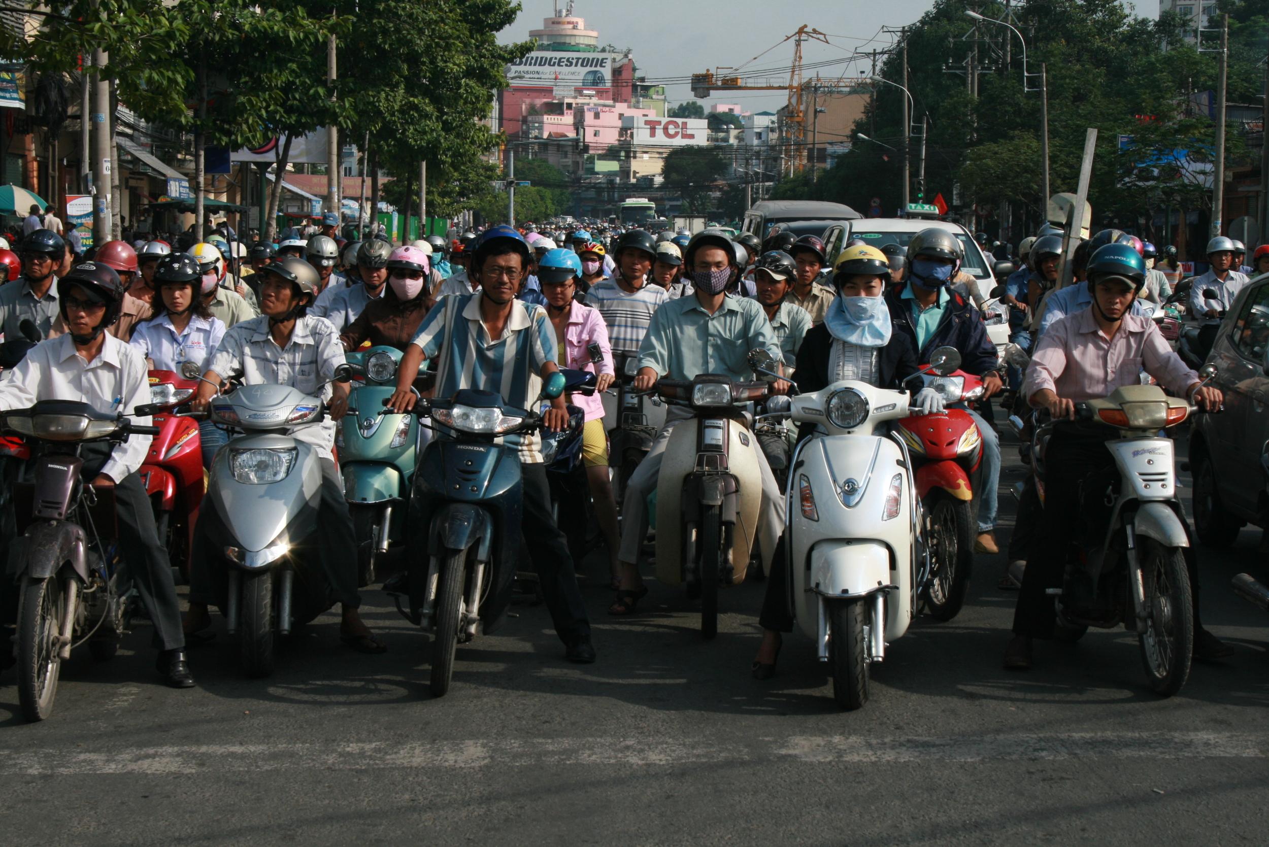 Saigon, Vietnam (2008)