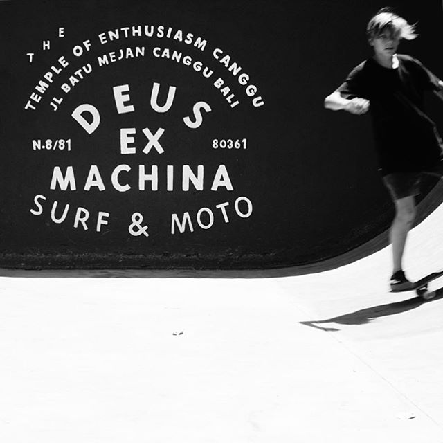Break in between sunrise and sunset surfing #deusexmachina #canggu #bali