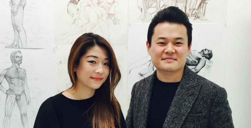 Angela Chen and Alexander Lu of Openstudio Academy of Art + Design