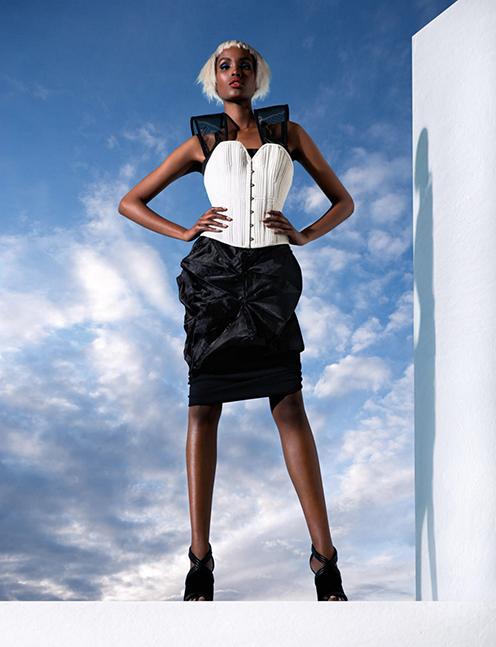 Dress worn as skirt Joyce Li