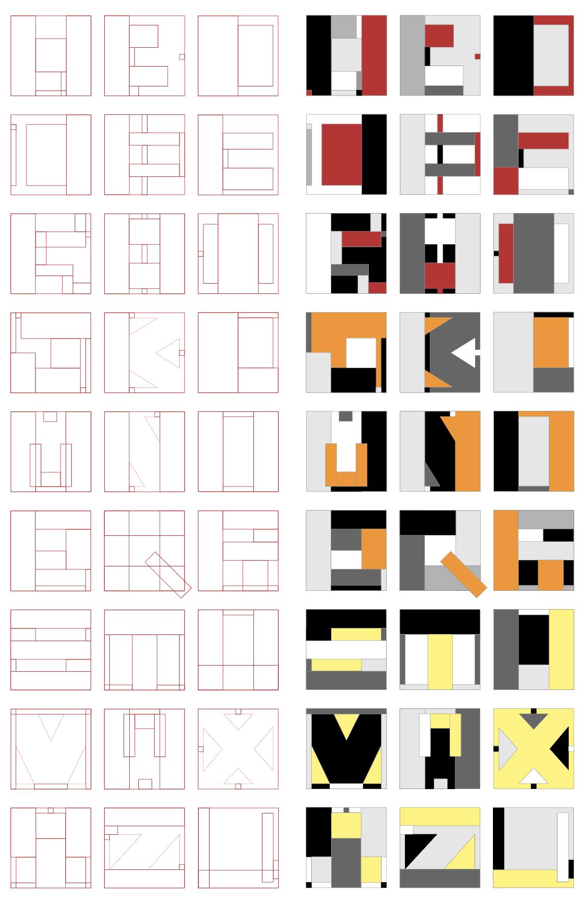 字体设计/Typeface Design