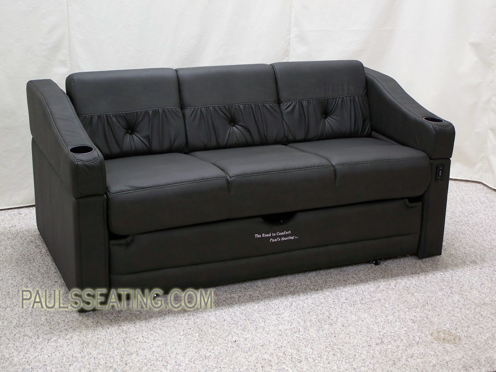 Elite Power sofa w- ottoman.JPG