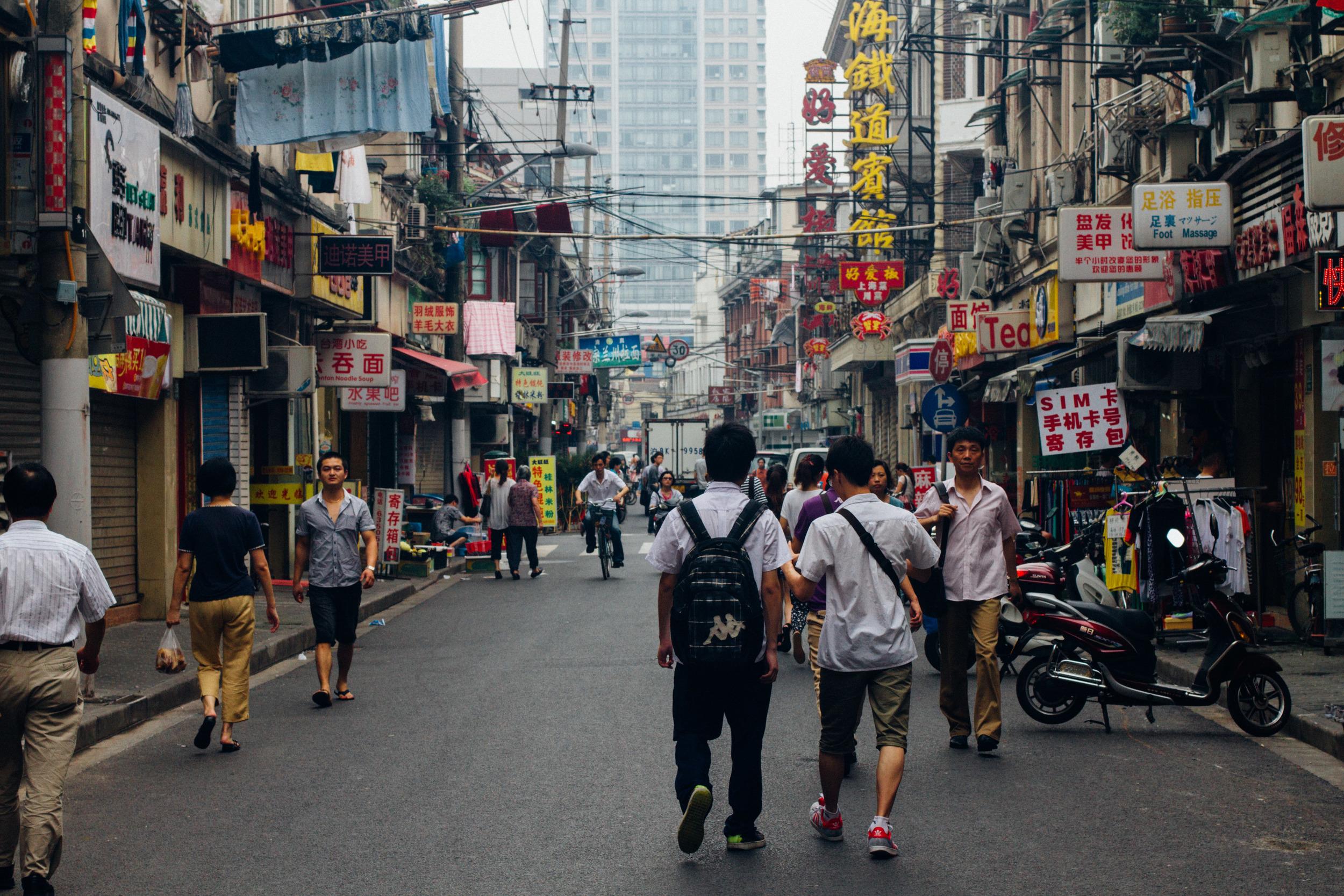 Shanghai, Kaija Jones