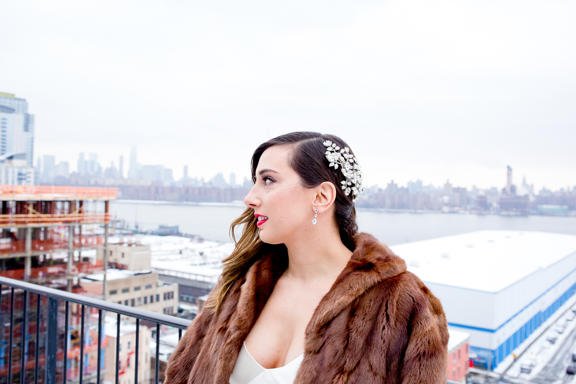 010_CarlyGaebe_SteadfastStudio_WeddingPhotography_NewYorkCity_Brooklyn_WytheHotel_Retro_Bride_Rooftop_Winter.jpg
